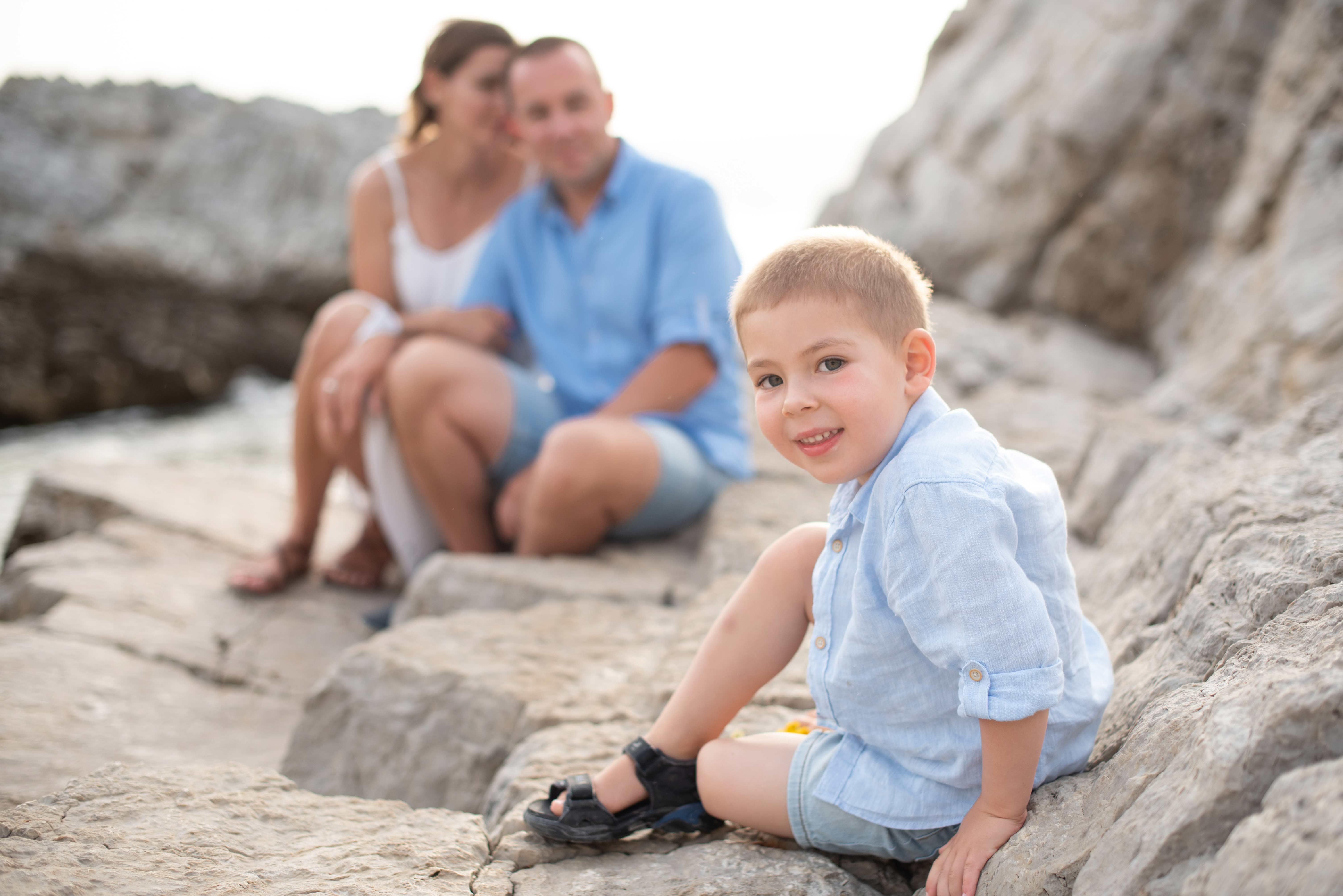 Reportage photo de famille Nice
