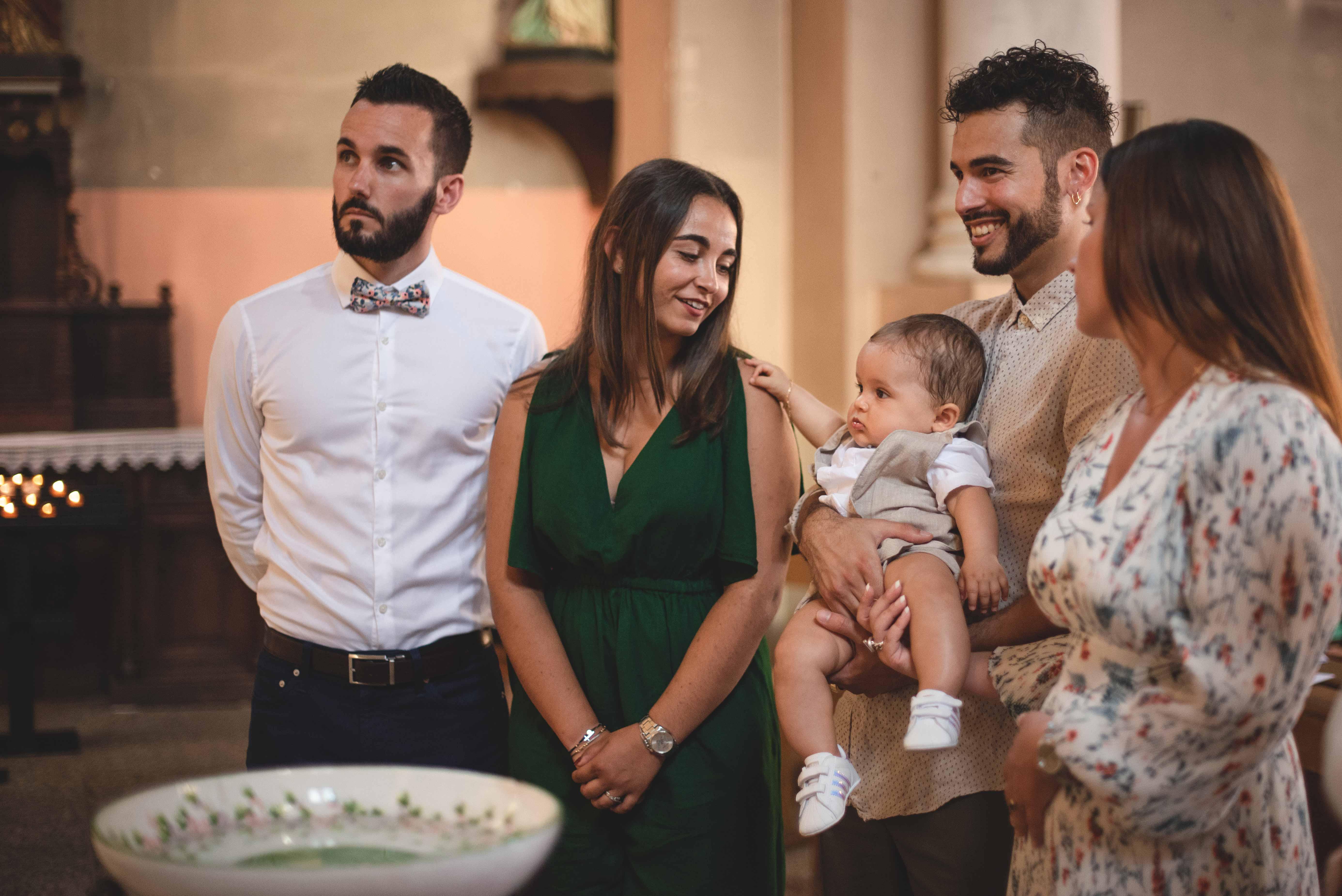 Baptême catholique photographe