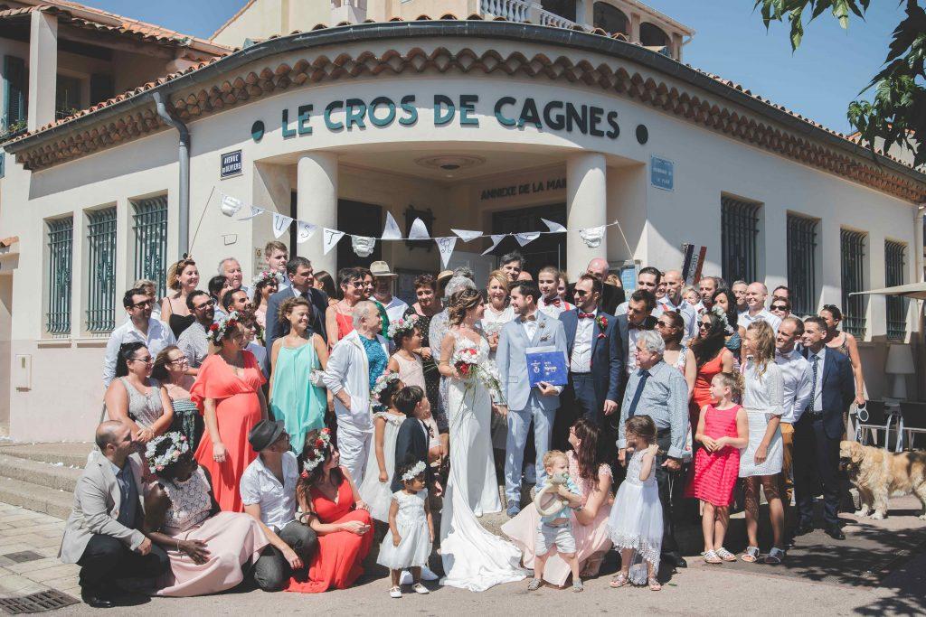 Photographe de mariage la Mairie 06