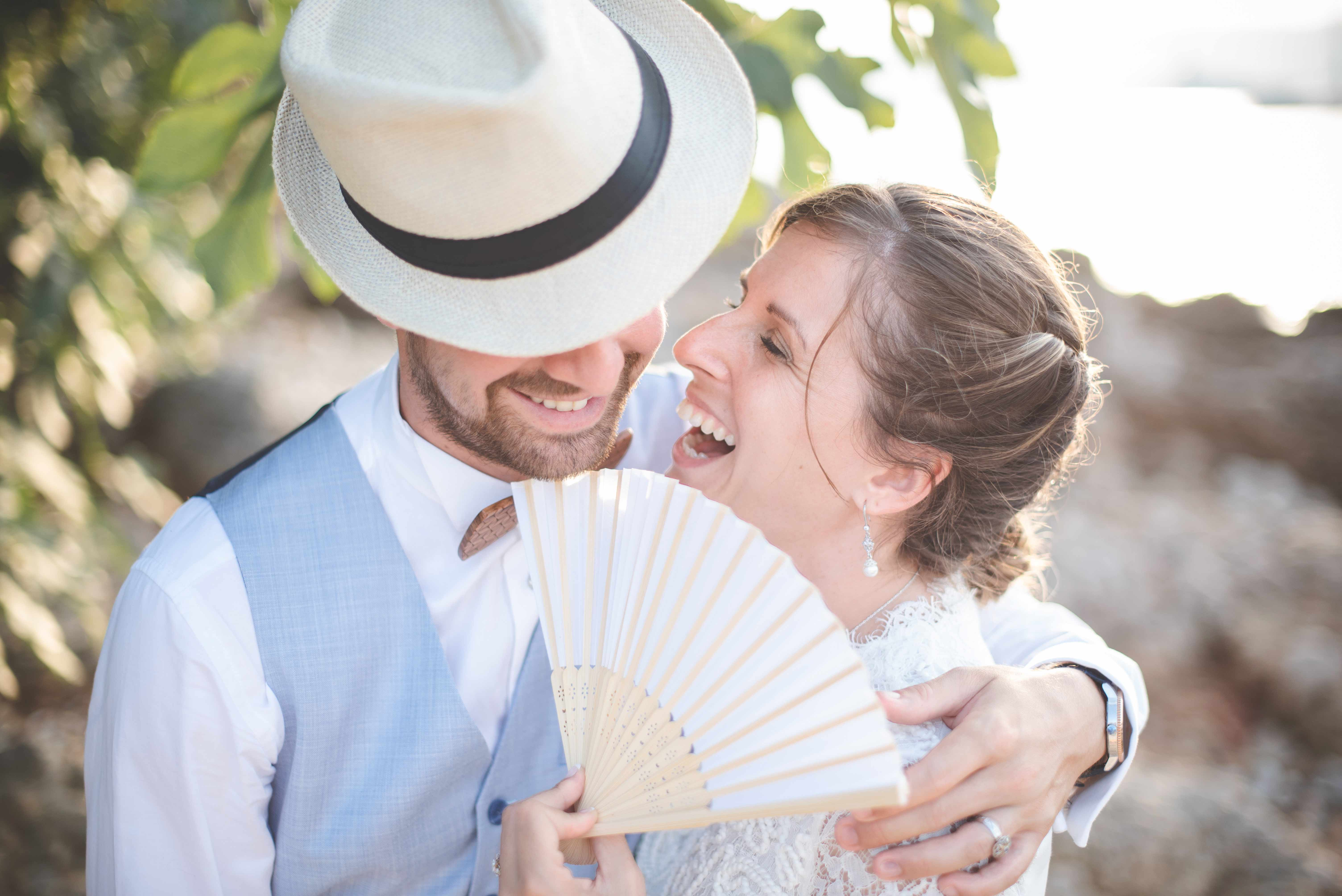 Photographe de mariage à Cannes