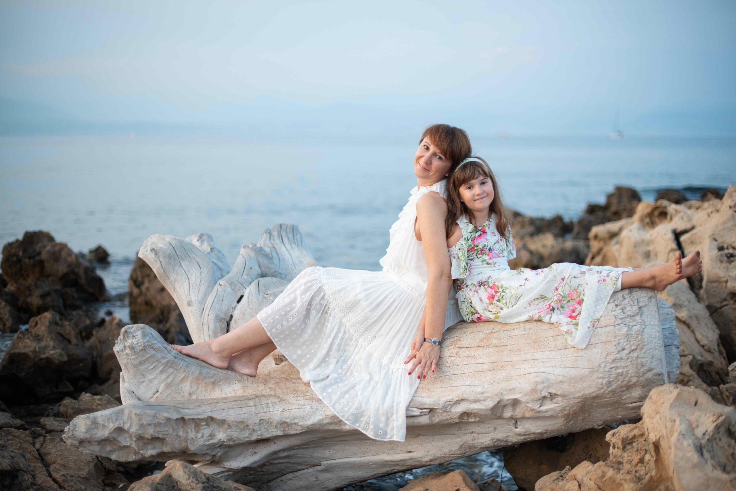 Seance photo de famille en bord de mer 06