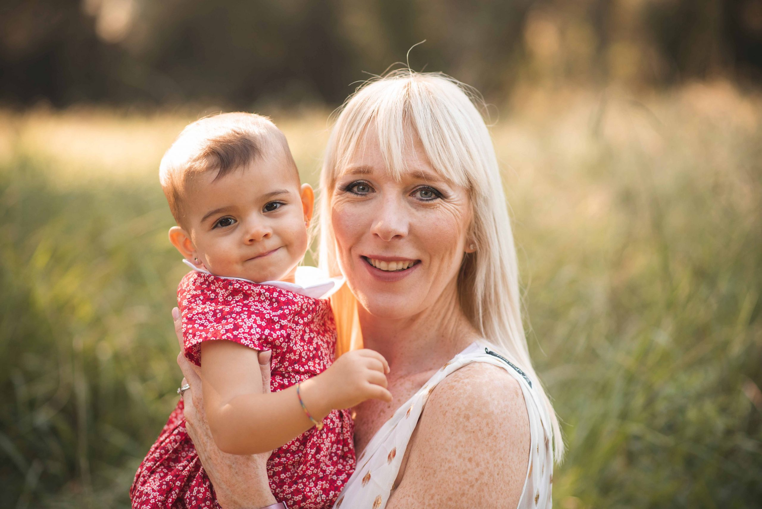 séance photo mère avec fille