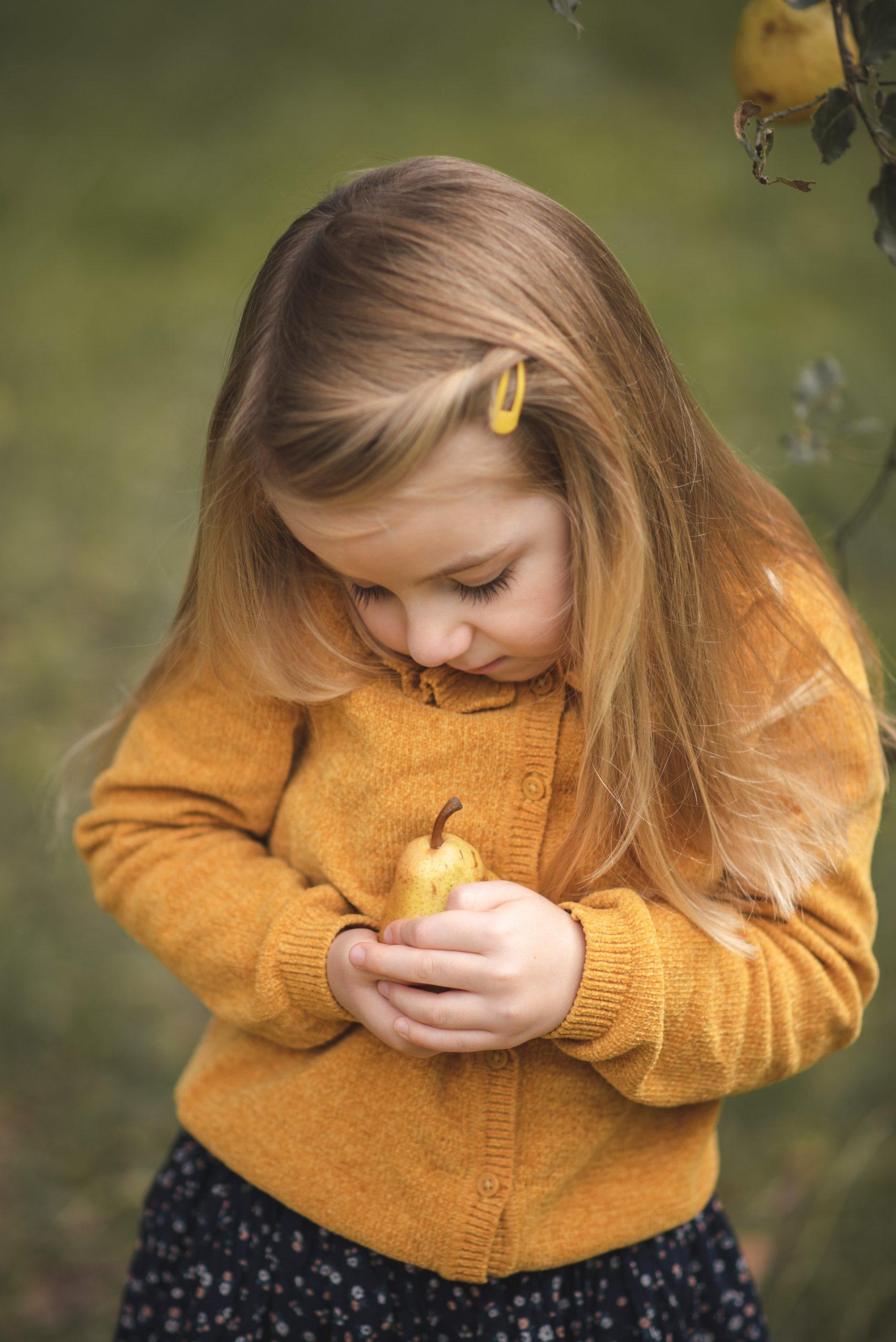 Séance photo fille enfant