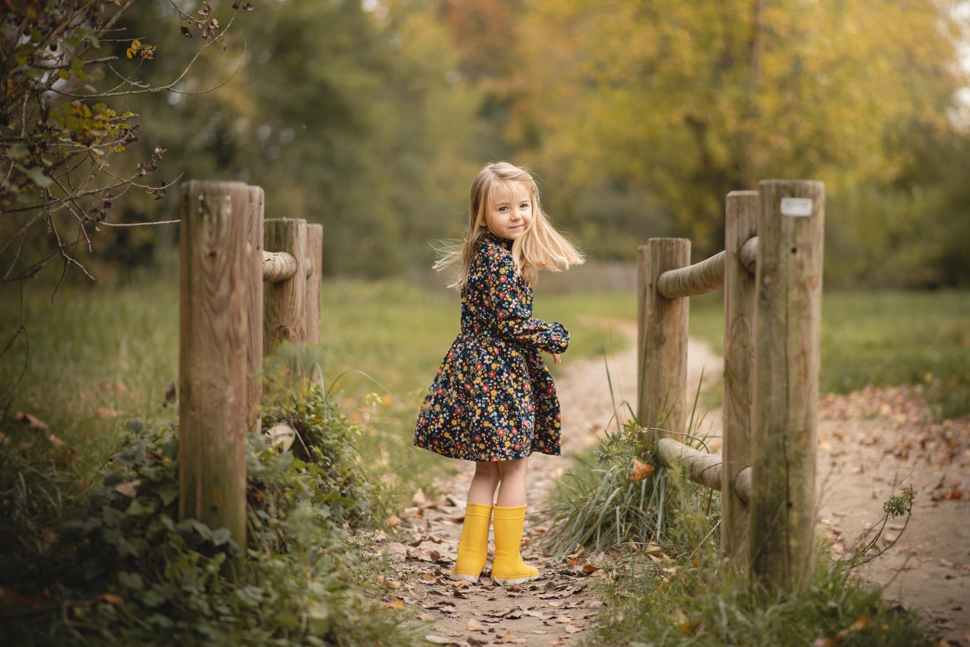 Séance photo d'une enfant Nice