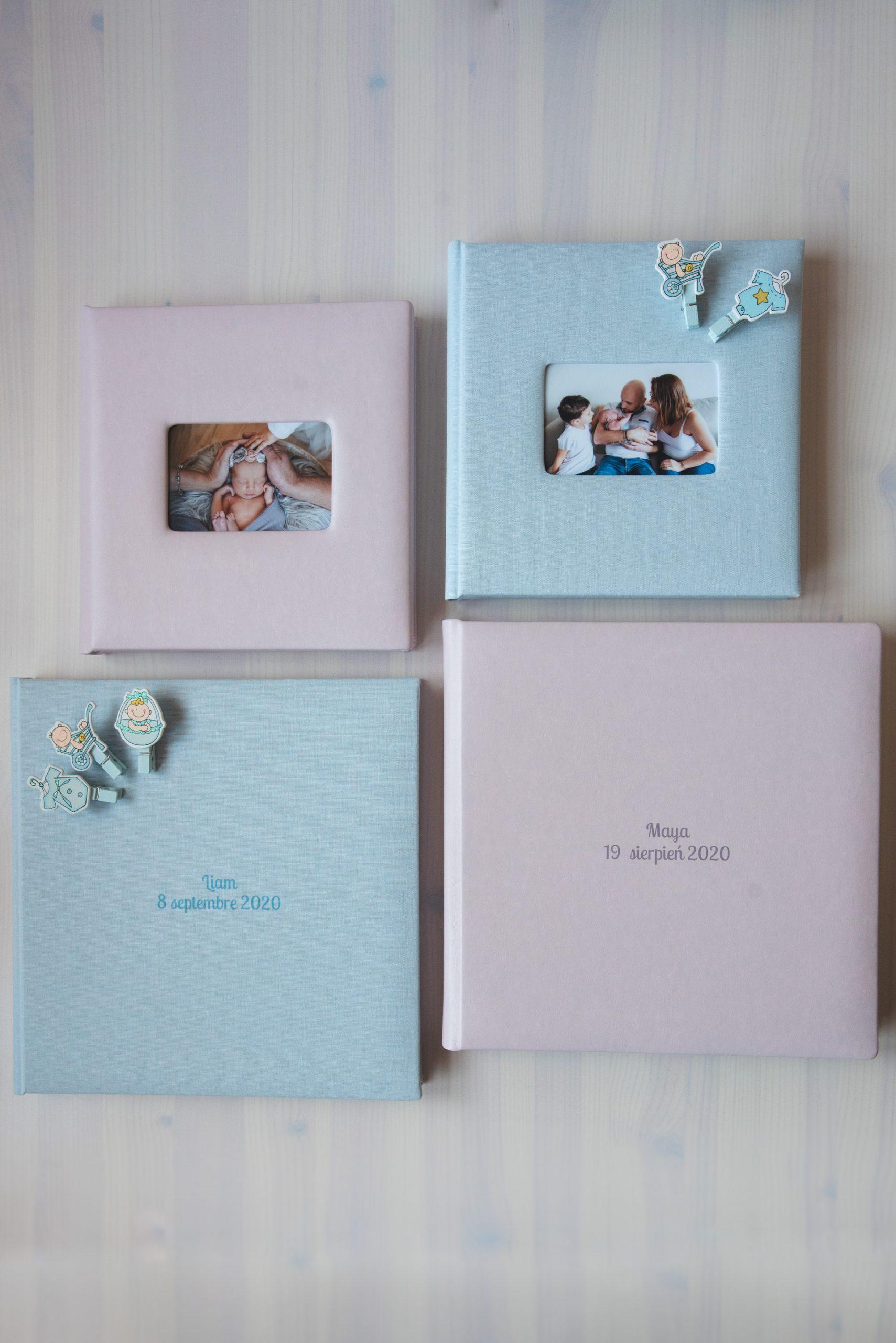 Album photo de naissance photographe Nice