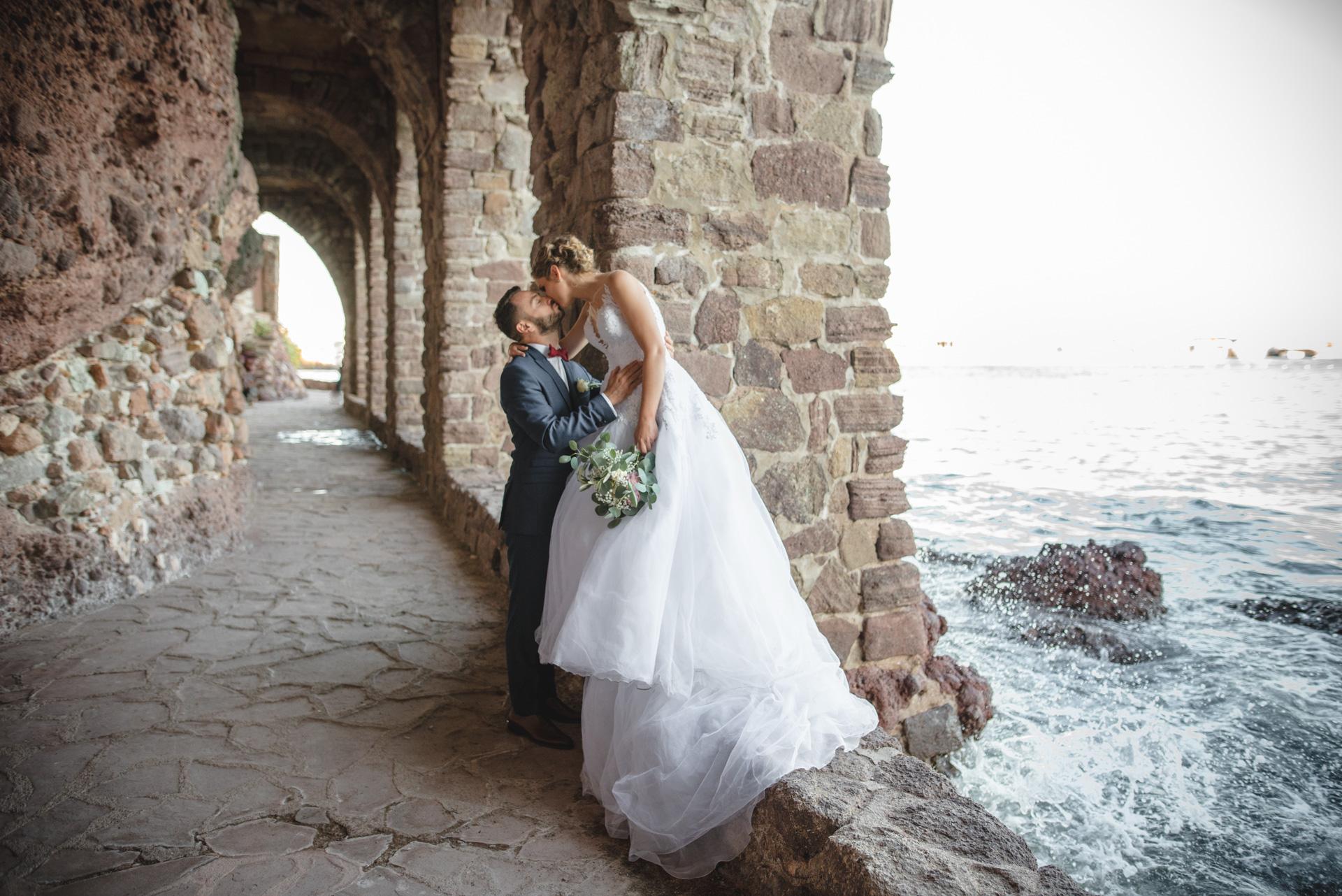 Photographe de mariage à Mandelieu-La Napoule