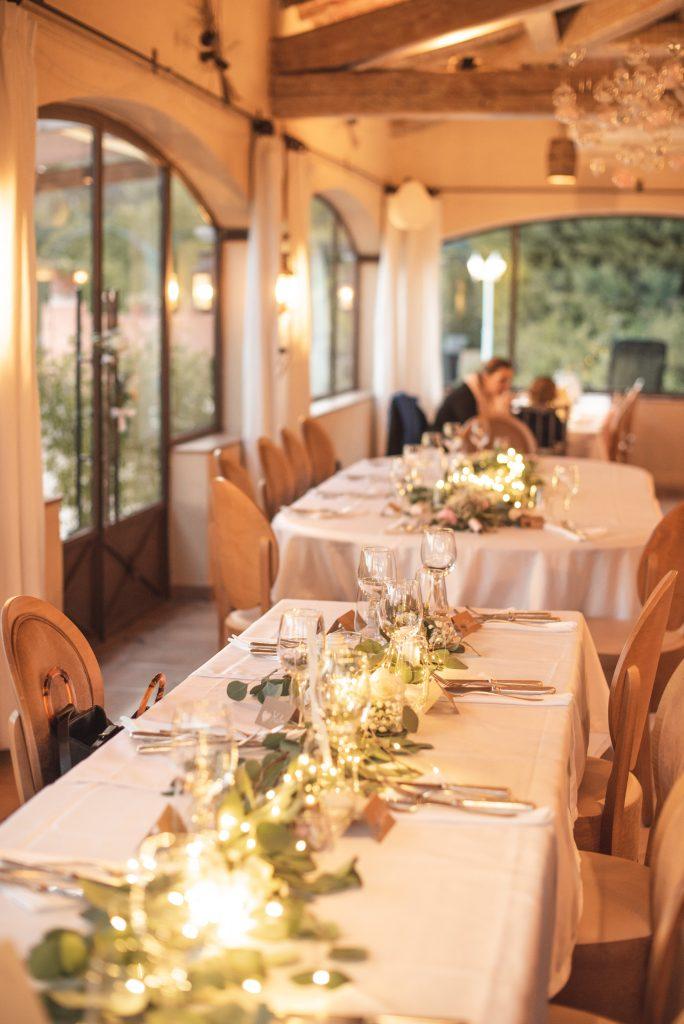 Table de mariées
